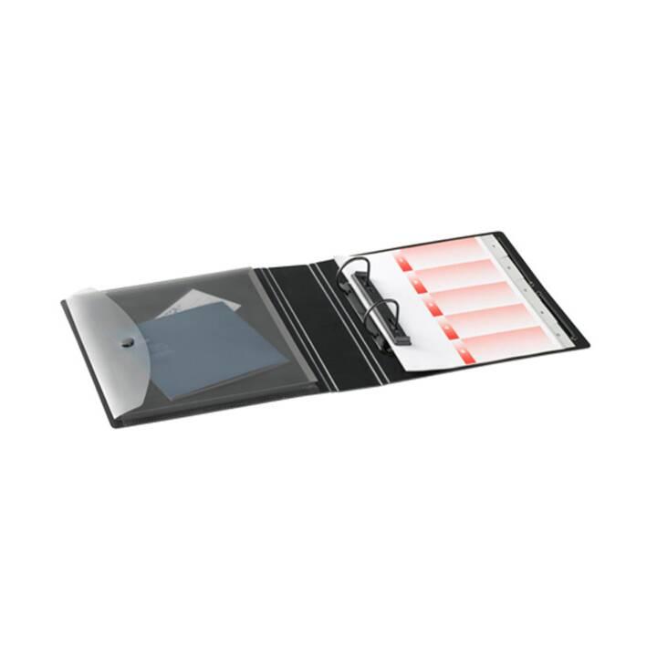 Reliure à anneaux KOLMA RACER A5 noire Anneau 30 mm