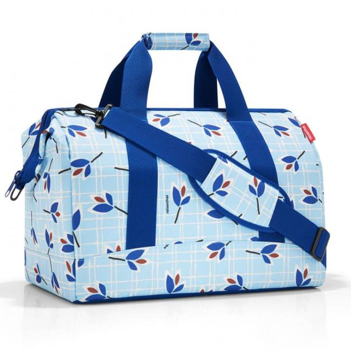 REISENTHEL Allrounder L Leaves Blue Shopper (Polyester)
