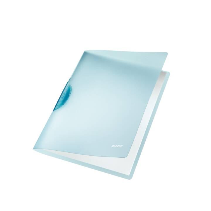 Chemise à clip LEITZ Color Clip Rainbow A4 bleu