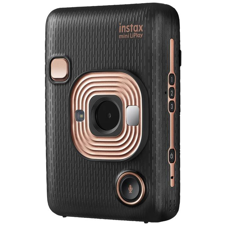 FUJIFILM Instax Mini LiPlay Eleg Black