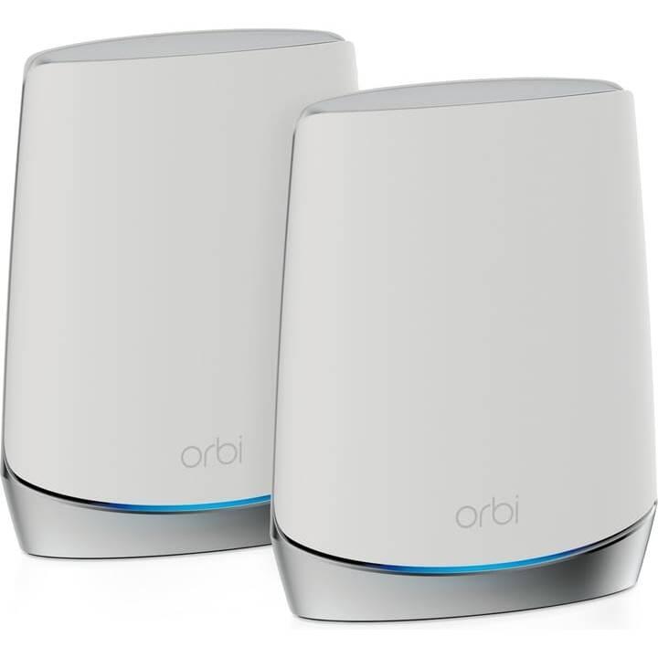 NETGEAR Orbi RBK752 AX4200 WiFi 6 Duo WLAN-Mesh System