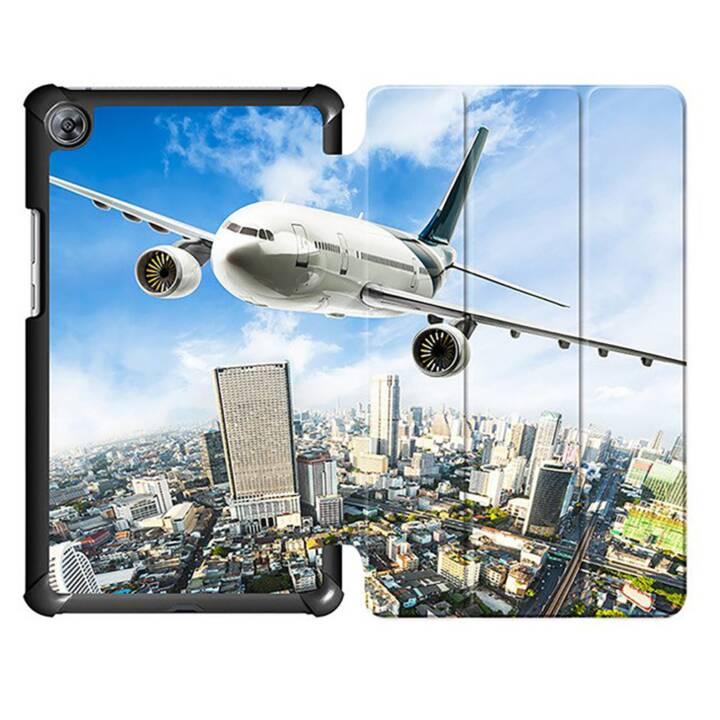 "EG MTT Housse Tablette pour Huawei Mediapad M5 8.4"" - Avion"