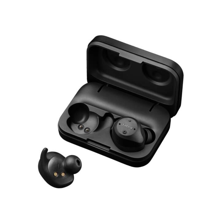 JABRA True Wireless Elite Sport EMEA (Earbud, Bluetooth 4.2, Noir)