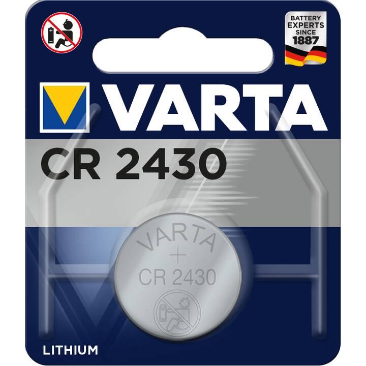 VARTA Batterie (Universell, CR2430, 1 Stück)