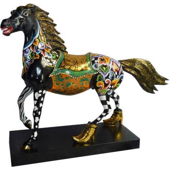 TOM'S DRAG Figura decorativa Black Beauty (Multicolore, Nero)