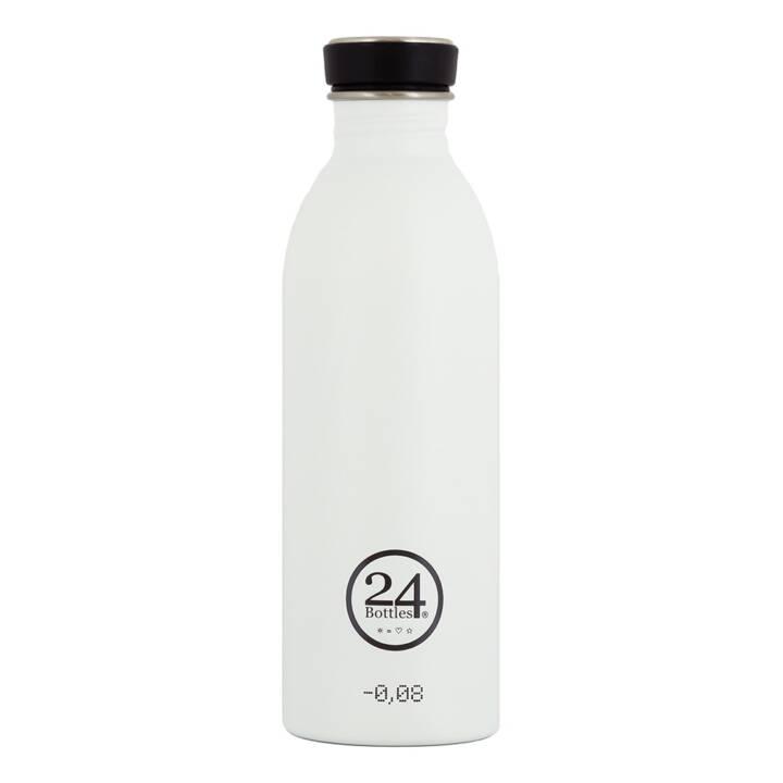 24BOTTLES Trinkflasche Urban (0.5 l, Weiss)