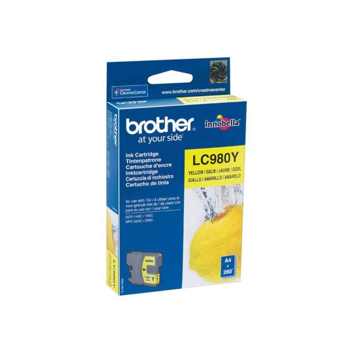 BROTHER LC980Y (Gelb, 1 Stück)