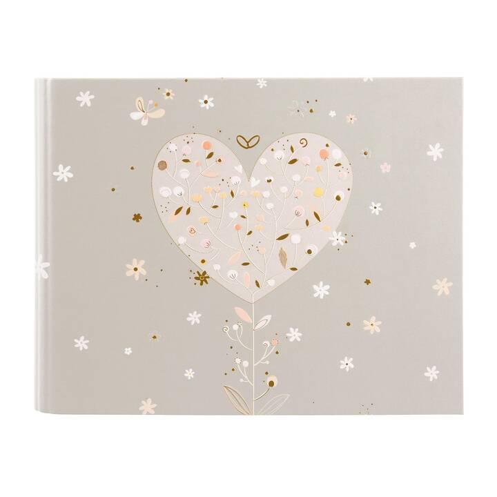 GOLDBUCH Elegant Heart Album fotografico (Multicolore)