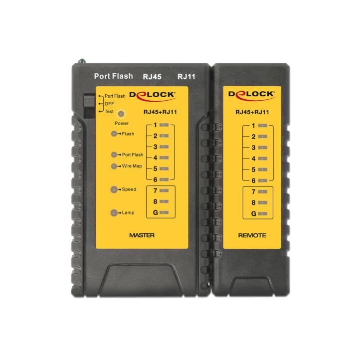 DELOCK LAN Testeur maître RJ11/RJ45
