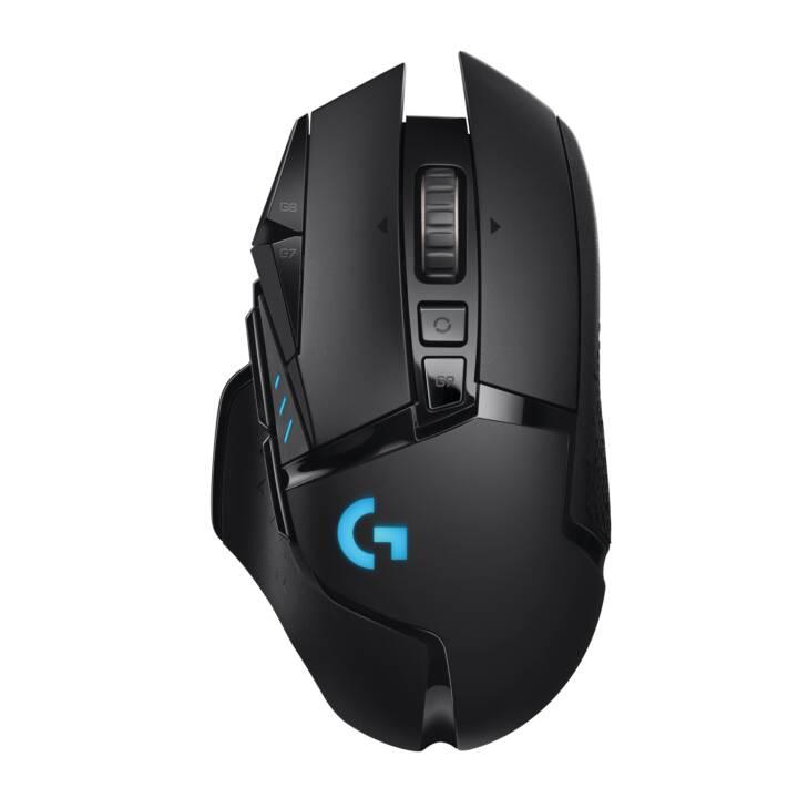 LOGITECH G502 Lightspeed Maus (Kabellos, Gaming)