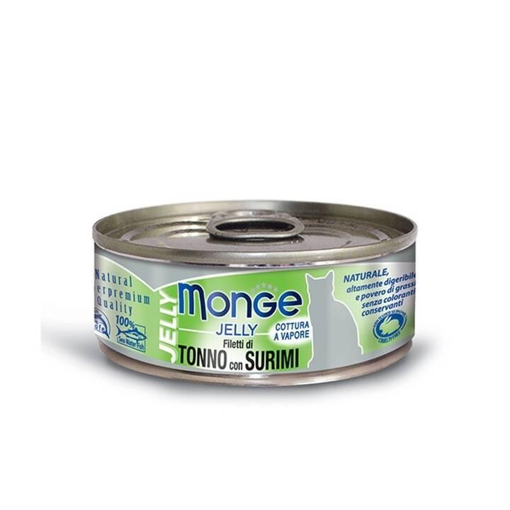 MONGE Jelly  (Junior, 1 x 80 g, Poisson)