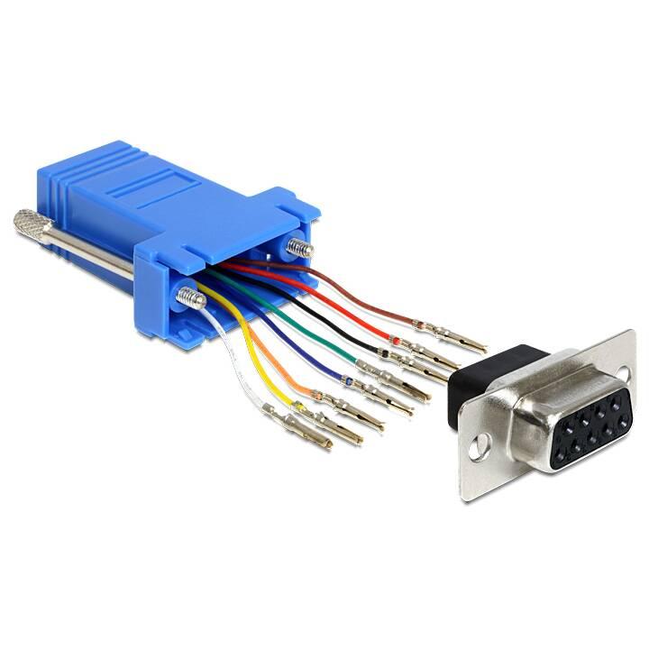 DELOCK Adapteur réseau (RS-232, RJ-45, 0 m)