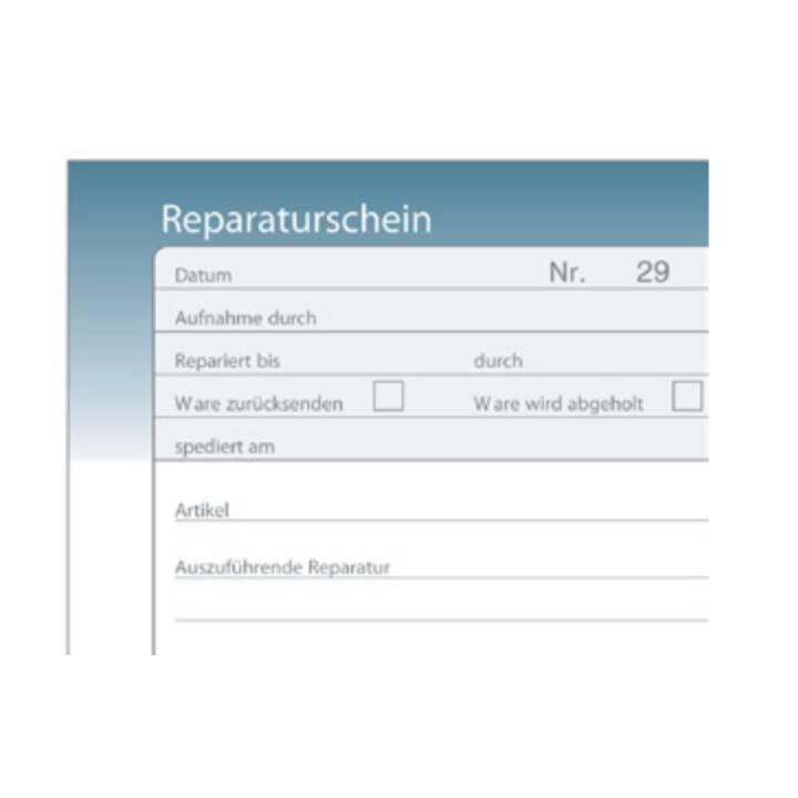 SIMPLEX Certificato di riparazione (A6)
