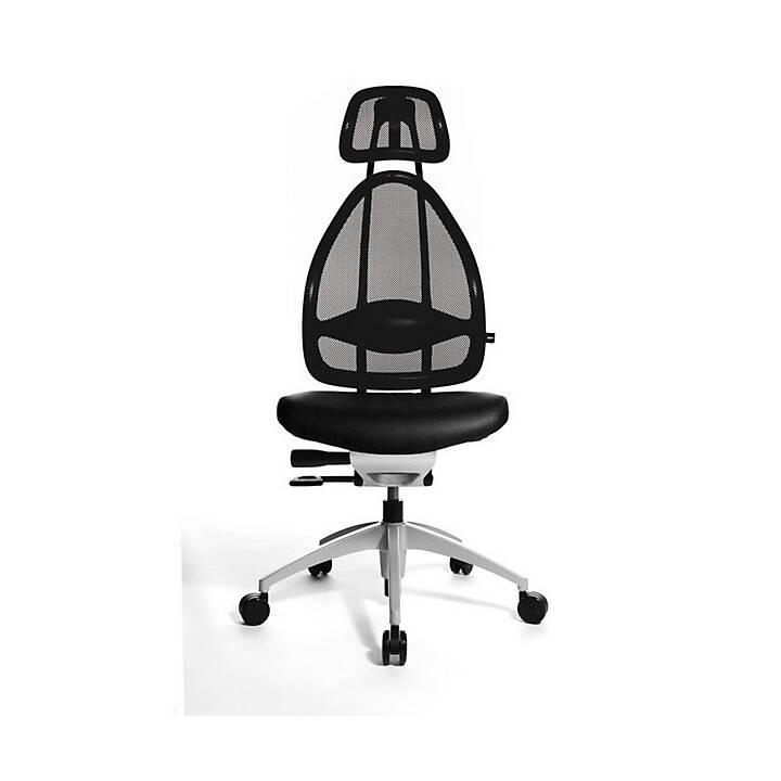 Chaise opérateur (Noir, Blanc)
