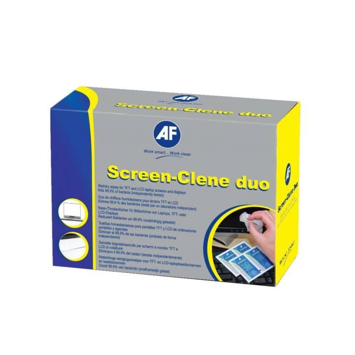 AF Screen-Clene-Duo Salviettine di pulizia umido