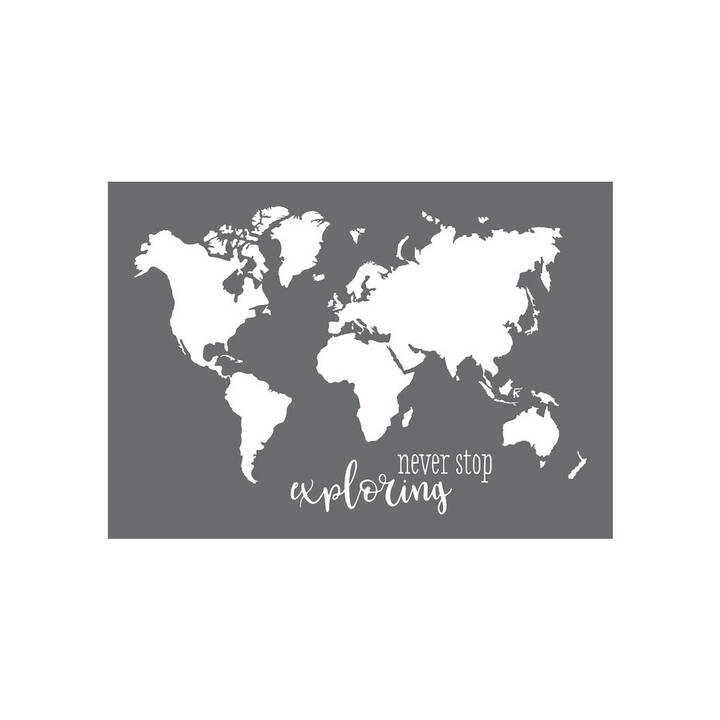 RAYHER Spencil per pitturare World Map 297 x 420 mm (420 mm x 297 mm)