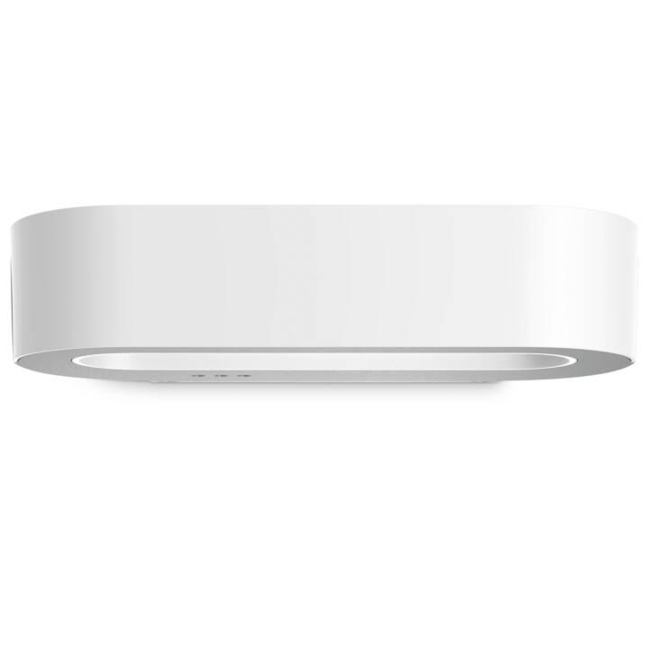 STEINEL L 710 LED Sensorleuchte (LED, 8.6 W, Weiss, Silber)