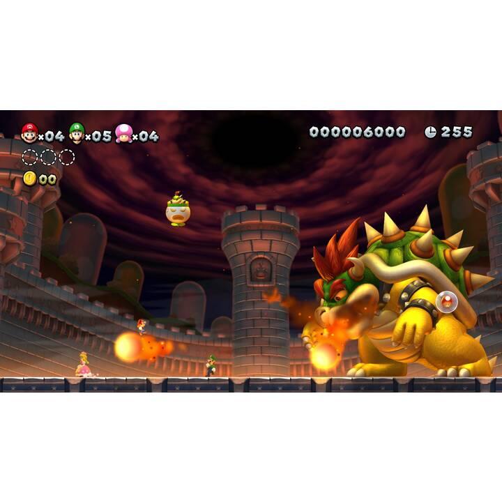NINTENDO Switch New Grey + New Super Mario Bros. U Deluxe 32 GB (Tedesco)