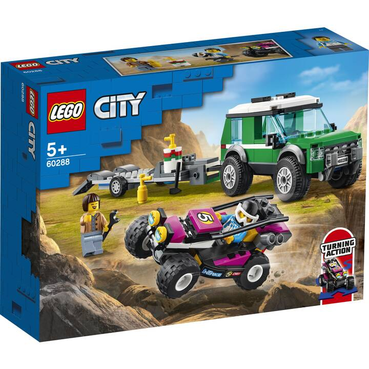 LEGO City Le transport du buggy de course (60288)