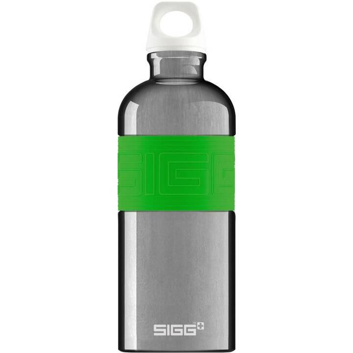 SIGG Borraccia CYD Alu Green (0.6 l, Verde, Alluminio)