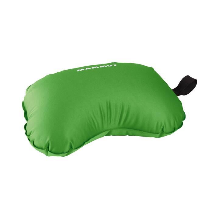 MAMMUT Compact Cuscino da viaggio per sostegno testa e collo (0.9 l, Verde)