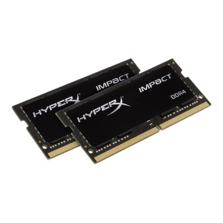 HYPERX Impact (2 x 16 GB, DDR4-SDRAM, SO-DIMM 260-Pin)