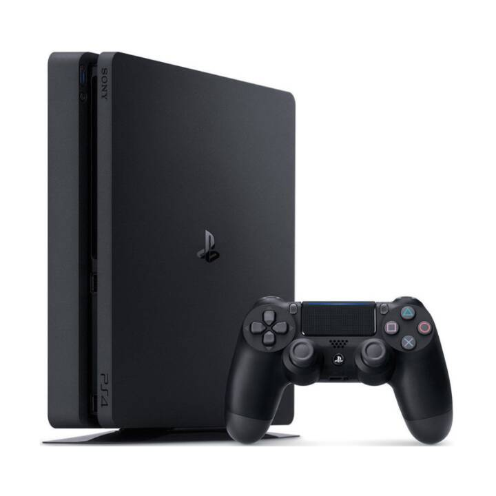 SONY Playstation 4 Slim Jet Black 1 TB