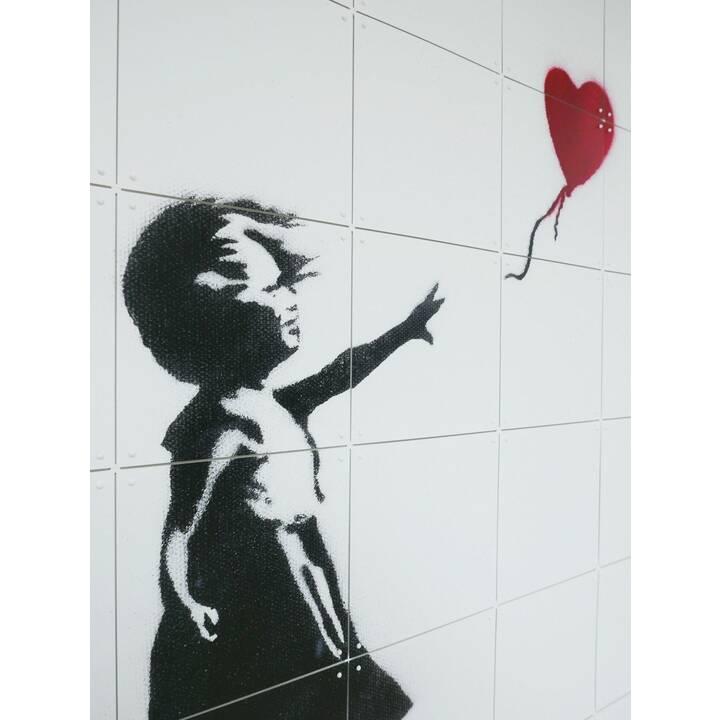 IXXI Girl with Balloon (Mehrfarbig)