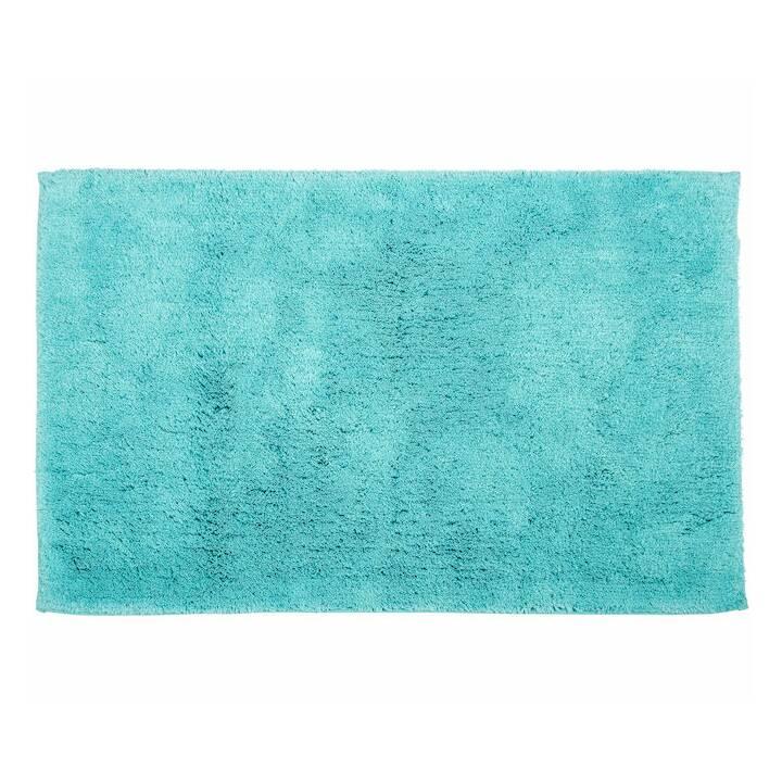 LIVIQUE Tapis de bain Diana (60 cm x 90 cm, Turquoise)
