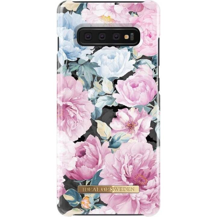 IDEAL OF SWEDEN Backcover Peony Garden (Galaxy S10+, Multicolore)
