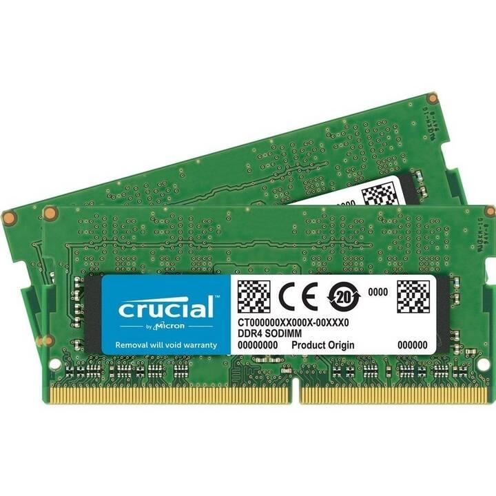CRUCIAL CT2K8G4S24AM (2 x, 8 Go, DDR4-SDRAM, SO-DIMM 260-Pin)