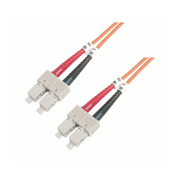 MHE Câble réseau (SC multi-mode, 1 m)