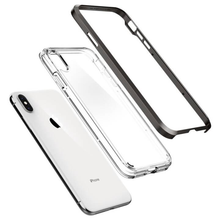 SPIGEN Handy-Schutzhülle, 6,5 Zoll, Schwarz, Transparent