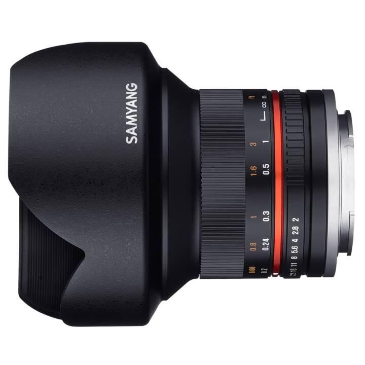 SAMYANG F2.0 NCS CS CS SLR Objectif Grand Angle Noir