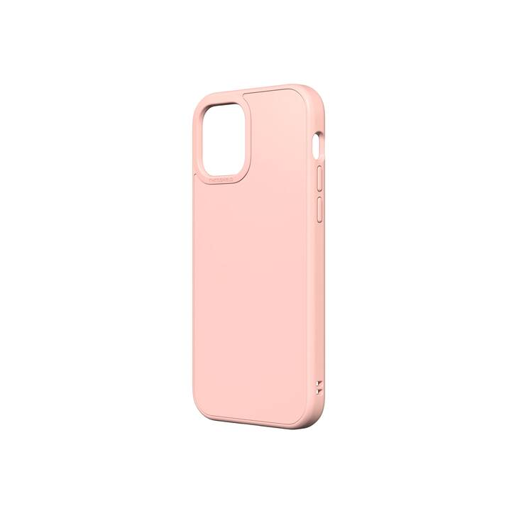RHINOSHIELD Backcover SolidSuit (iPhone 12, iPhone 12 Pro, Rosa)