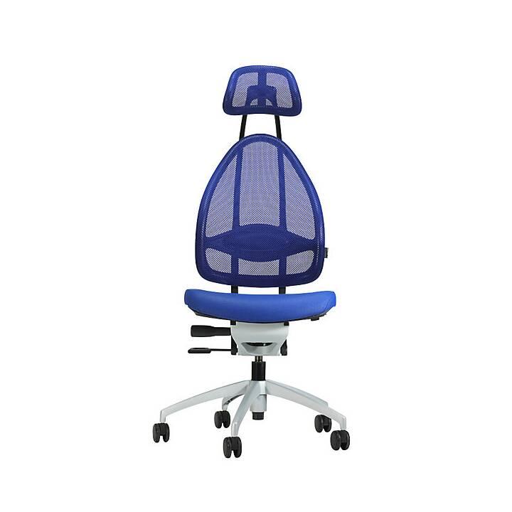 TOPSTAR Bürostuhl (Blau, Weiss)