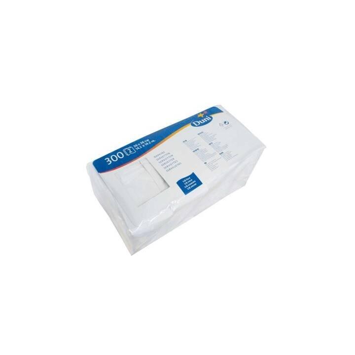 COSMETICS Papierserviette Duni (36 cm x 36 cm, 300 Stück, Einfarbig)