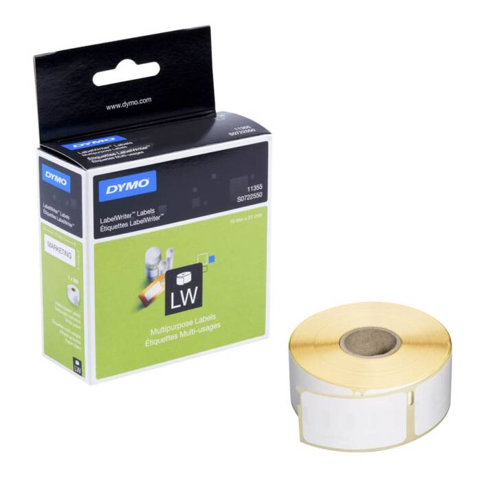 DYMO LabelWriter LabelWriter Labels S0722550, 500 pièces