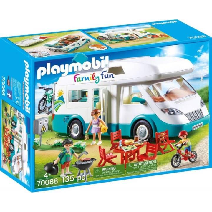PLAYMOBIL Family Fun Famille et camping-car (70088)