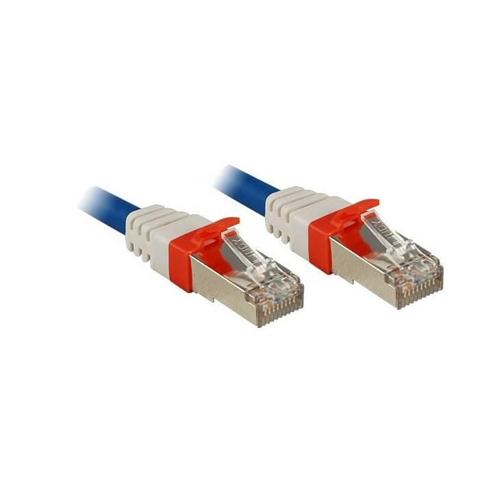 Câble patch LINDY - 30 m - Bleu