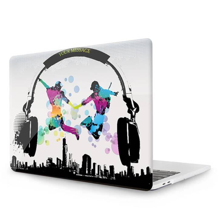 """EG MTT Cover pour MacBook 12"""" Retina - Casque d'écoute"""