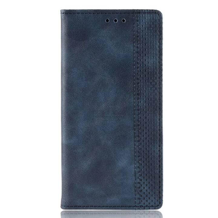 EG Mornrise Custodia a Portafoglio per Samsung Galaxy M30 - Blu Scuro