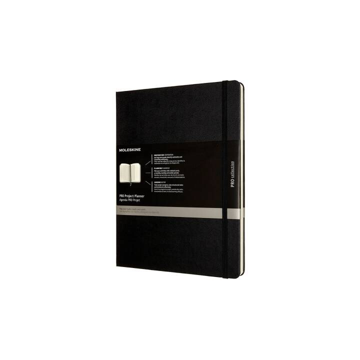 MOLESKINE Notizbuch Pro (A4, Liniert)
