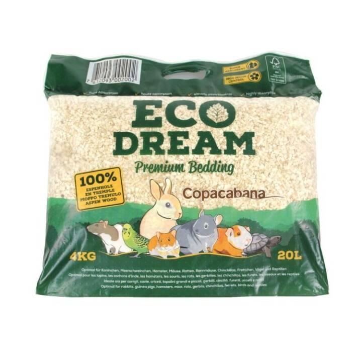 COPACABANA Eco Dream Premium Bedding Lettiera (Tutto roditori, Fibra di legno, 20 l)