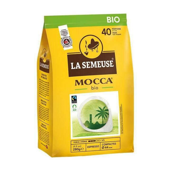 LA SEMEUSE E.S.E. Kaffeepads Mocca Bio (40 Stück)