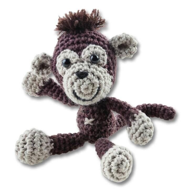 FOLIA Mini Set Scimmia all'uncinetto FOLIA Mini Set Scimmia