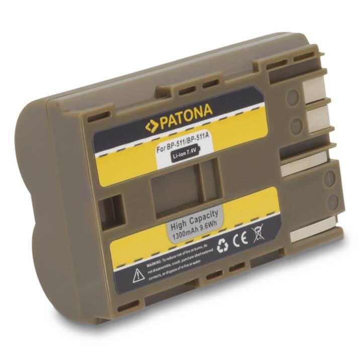 Batterie PATONA pour Canon BP-511