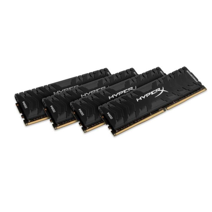 HYPERX Predator (4 x 8 GB, DDR4-SDRAM, DIMM 288-Pin)