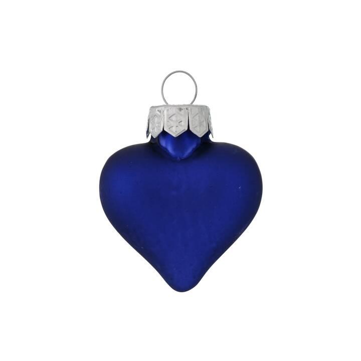 BOLTZE Décoration de sapins de noël (12 pièce, Bleu foncé)