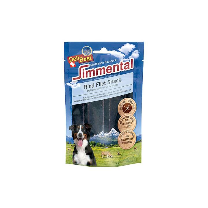 DELIBEST Simmental Rind Filet Snack 90g